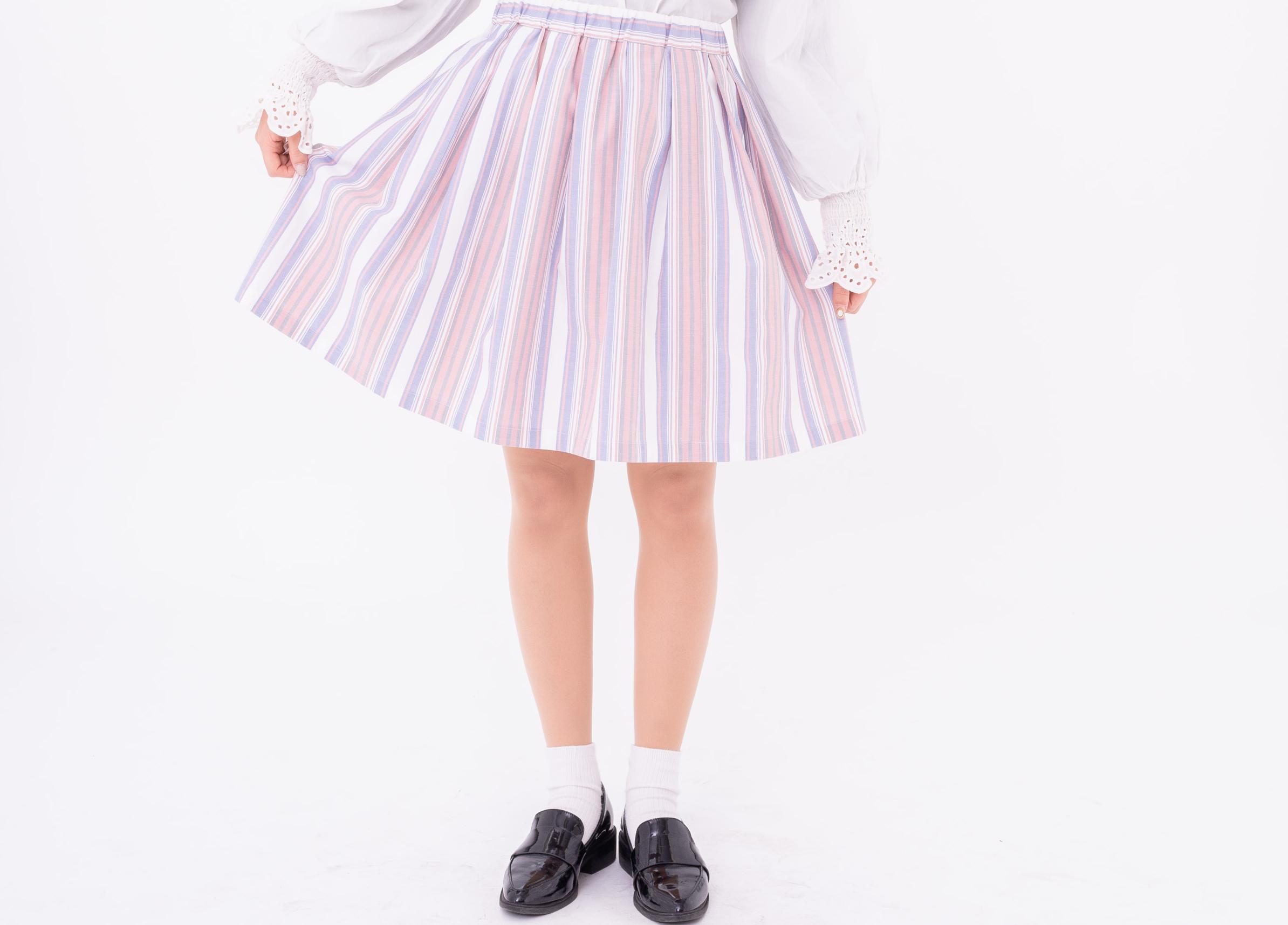 スカート製作体験